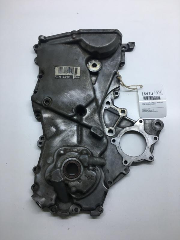 Лобовина двигателя Toyota Corolla Runx NZE121 1NZFE 2004 (б/у)