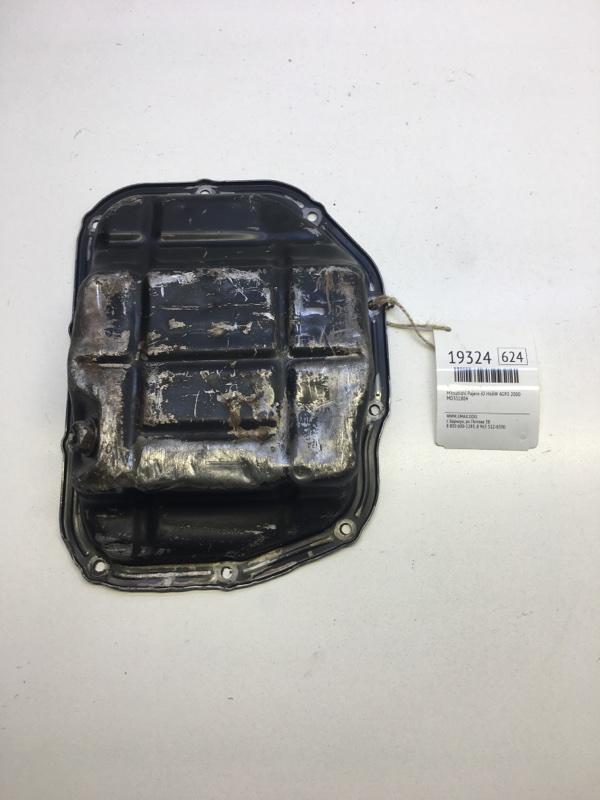 Поддон масляный Mitsubishi Pajero Io H66W 4G93 2000 (б/у)