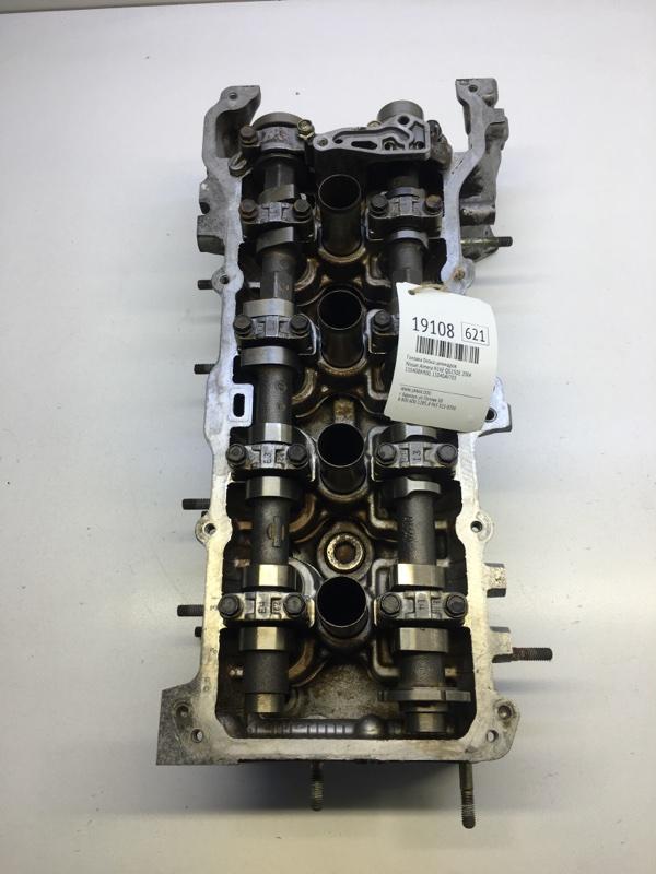 Головка блока цилиндров Nissan Almera N16E QG15DE 2004 (б/у)