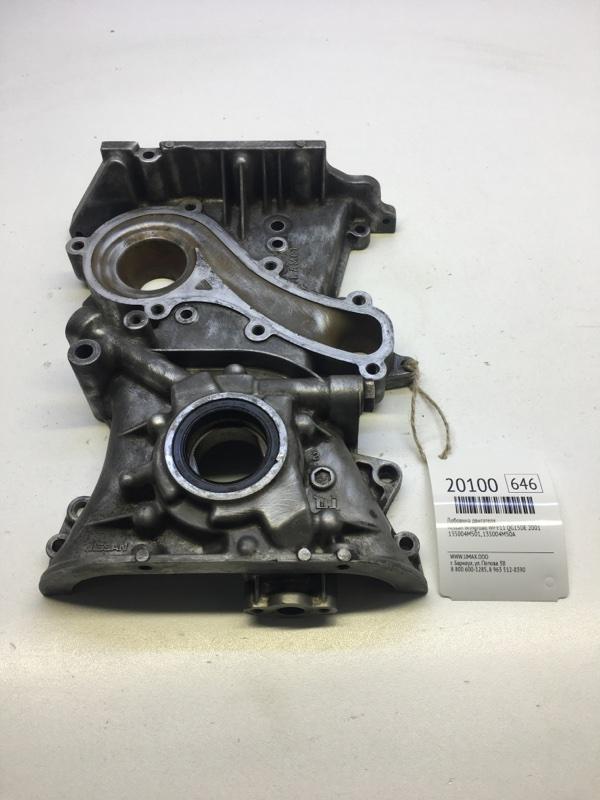 Лобовина двигателя Nissan Wingroad WFY11 QG15DE 2001 (б/у)