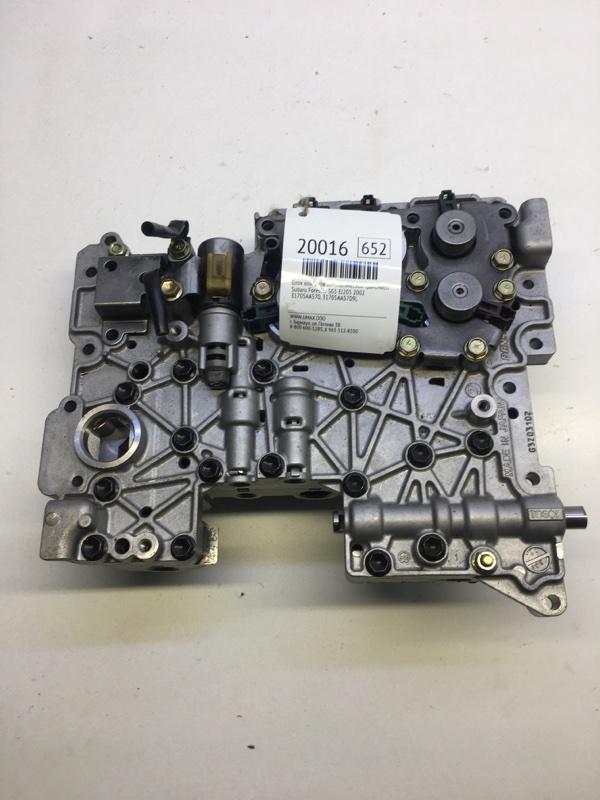 Блок клапанов автоматической трансмиссии Subaru Forester SG5 EJ205 2002 (б/у)