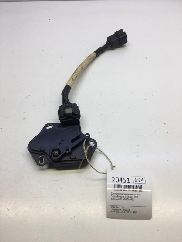 Датчик положения селектора акпп Subaru Forester SF5 EJ201 2001 (б/у)