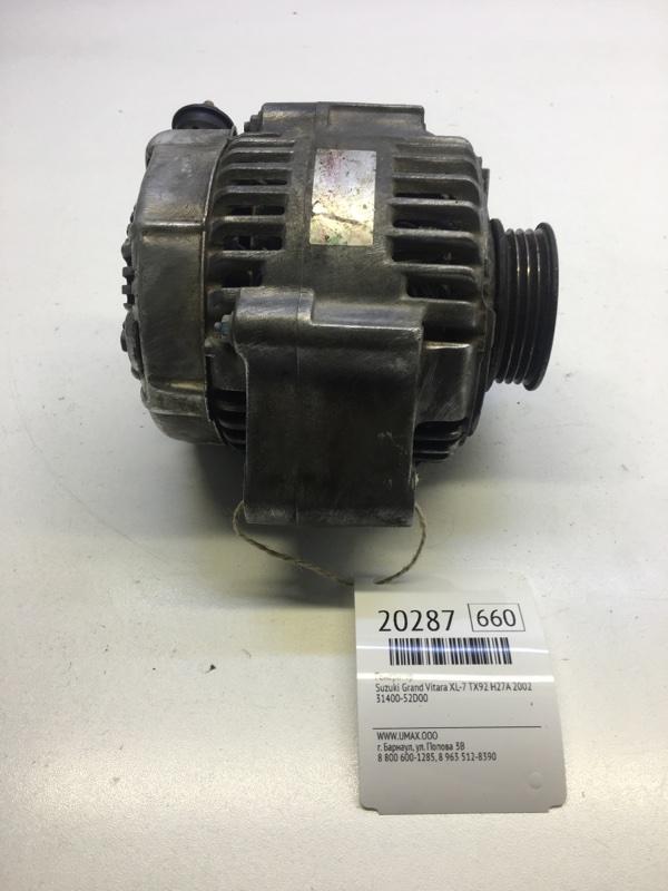 Генератор Suzuki Grand Vitara Xl-7 TX92 H27A 2002 (б/у)