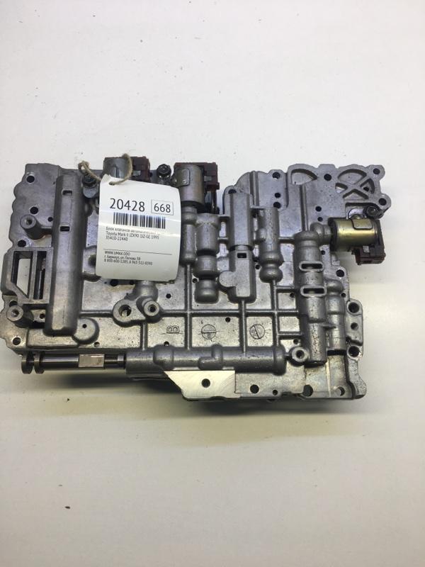 Блок клапанов автоматической трансмиссии Toyota Mark Ii JZX90 1JZGE 1995 (б/у)