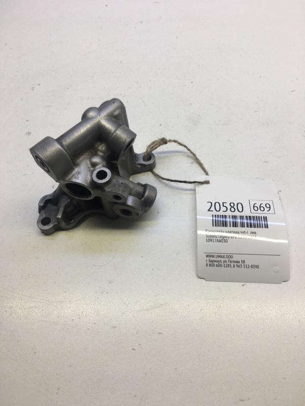 Кронштейн клапана vvt-i Subaru Legacy BPE EZ30 2003 левый (б/у)