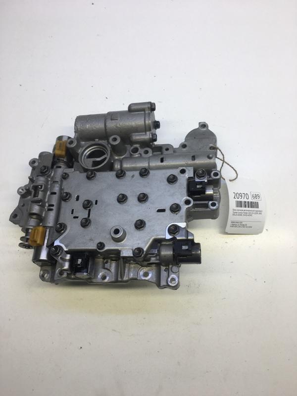 Блок клапанов автоматической трансмиссии Toyota Corolla Fielder ZZE124 1ZZFE 2001 (б/у)