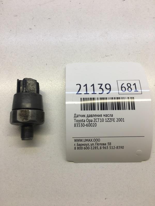 Датчик давления масла Toyota Opa ZCT10 1ZZFE 2001 (б/у)