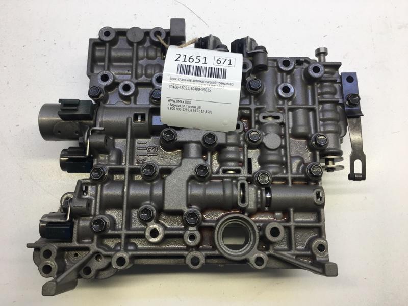 Блок клапанов автоматической трансмиссии Toyota Alphard ANH25W 2AZFE 2013 (б/у)