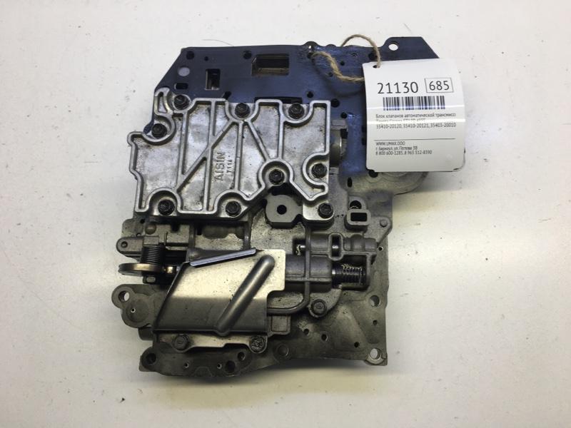 Блок клапанов автоматической трансмиссии Toyota Corona ST170 4SFE (б/у)