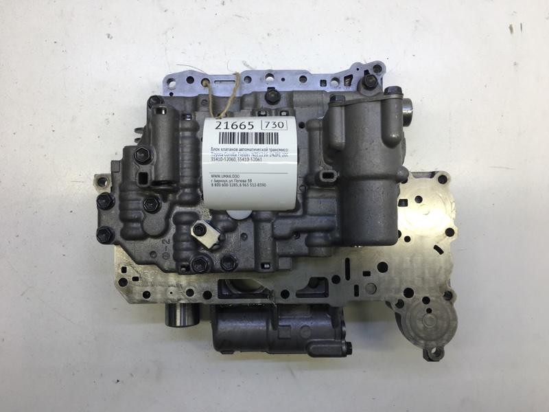 Блок клапанов автоматической трансмиссии Toyota Corolla Fielder NZE121G 1NZFE 2001 (б/у)