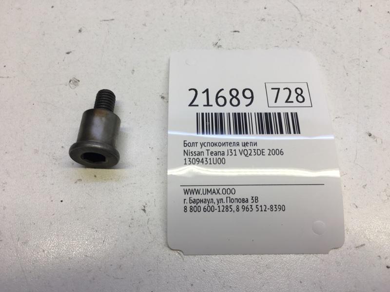 Болт успокоителя цепи грм Nissan Teana J31 VQ23DE 2006 (б/у)
