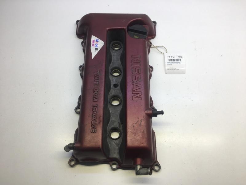 Крышка головки блока цилиндров Nissan Bluebird EU14 SR18DE 1997 (б/у)