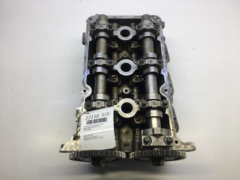 Головка блока цилиндров Mazda Mpv LW5W GY 2001 правая (б/у)