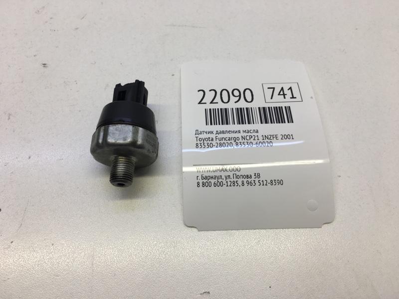 Датчик давления масла Toyota Funcargo NCP21 1NZFE 2001 (б/у)