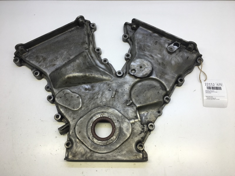 Лобовина двигателя Mazda Mpv LW5W GY 2001 (б/у)
