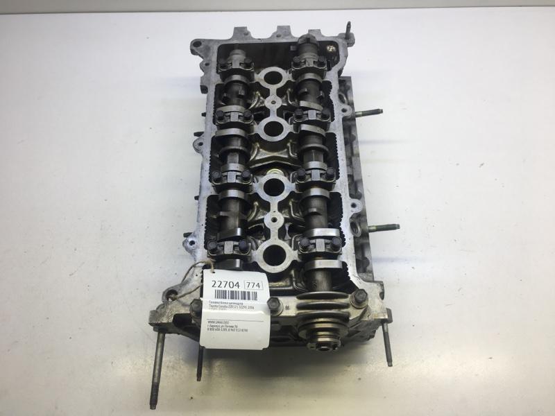 Головка блока цилиндров Toyota Corolla ZZE121 3ZZFE 2006 (б/у)