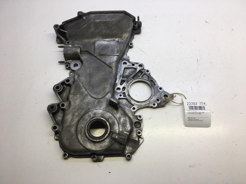 Лобовина двигателя Toyota Corolla ZZE121 3ZZFE 2006 (б/у)
