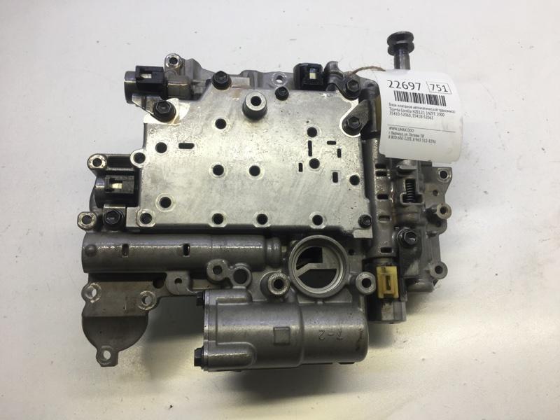 Блок клапанов автоматической трансмиссии Toyota Corolla NZE121 1NZFE 2000 (б/у)