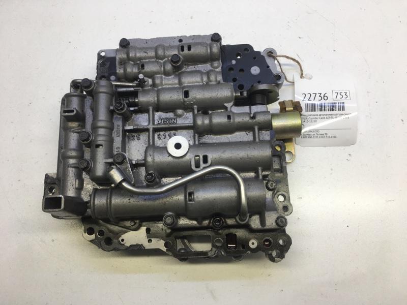 Блок клапанов автоматической трансмиссии Toyota Sprinter Carib AE95G 4AFHE 1993 (б/у)