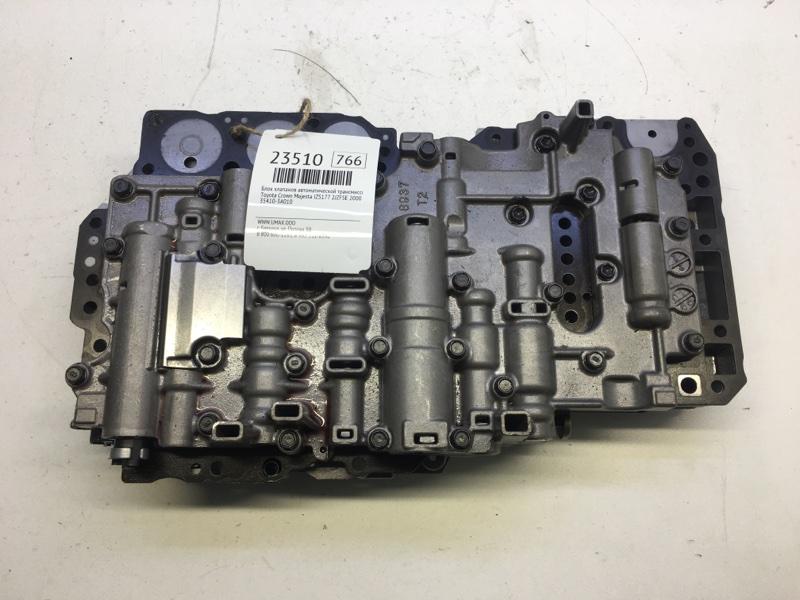 Блок клапанов автоматической трансмиссии Toyota Crown Majesta JZS177 2JZFSE 2000 (б/у)