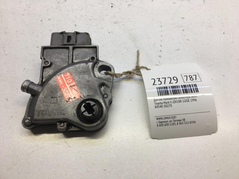 Датчик положения селектора акпп Toyota Mark Ii JZX100 1JZGE 1996 (б/у)