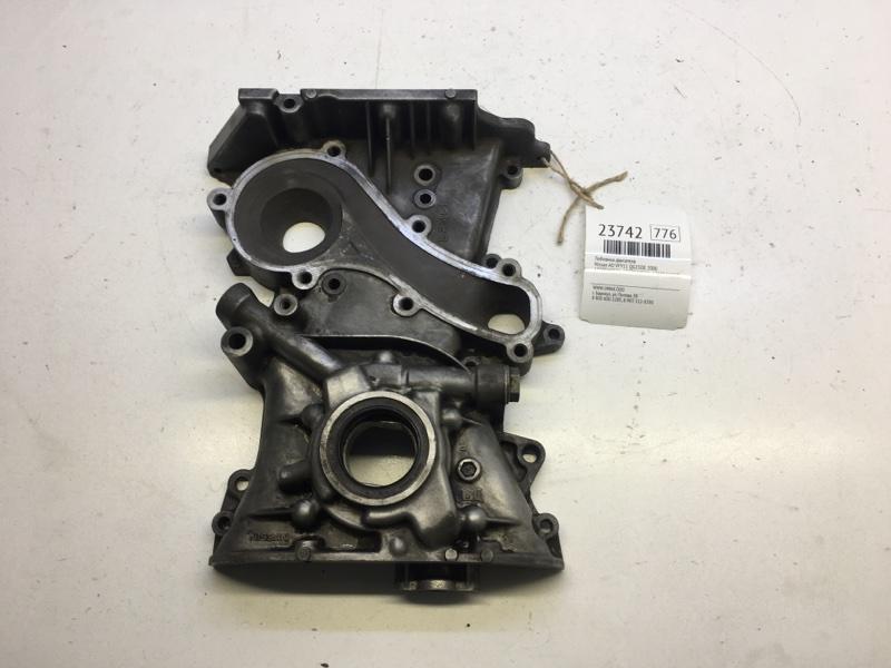 Лобовина двигателя Nissan Ad VFY11 QG15DE 2000 (б/у)