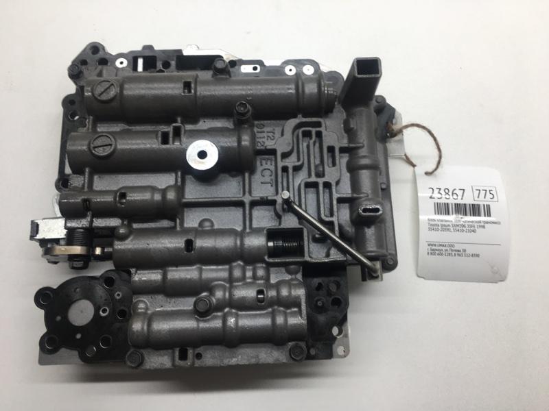Блок клапанов автоматической трансмиссии Toyota Ipsum SXM10G 3SFE 1998 (б/у)