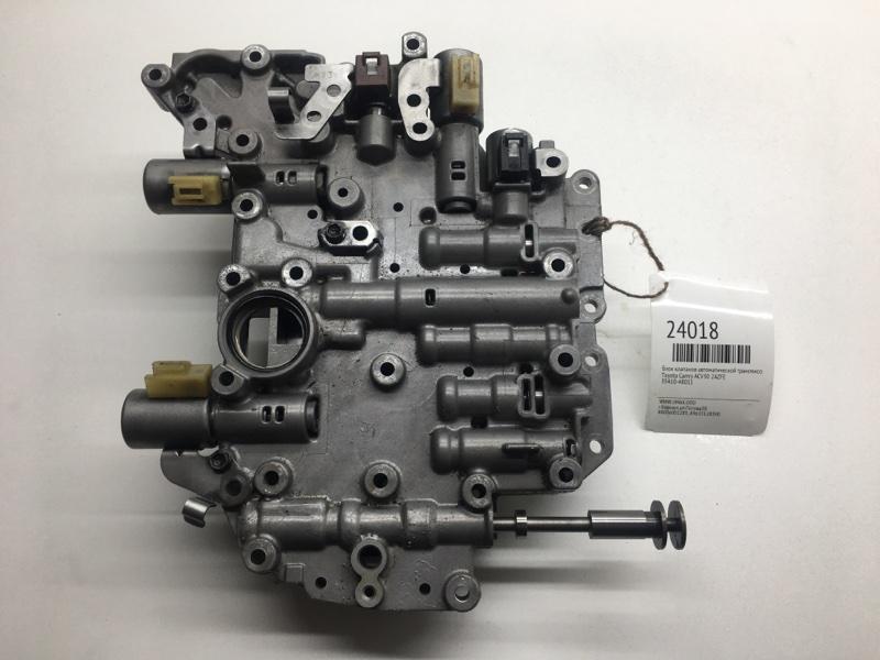 Блок клапанов автоматической трансмиссии Toyota Camry ACV30 2AZFE (б/у)