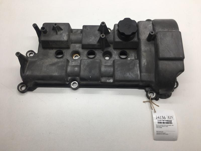 Крышка головки блока цилиндров Mazda Mpv LW5W GY 2002 левая (б/у)