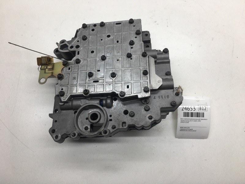 Блок клапанов автоматической трансмиссии Toyota Corona AT175 4AFE 1992 (б/у)