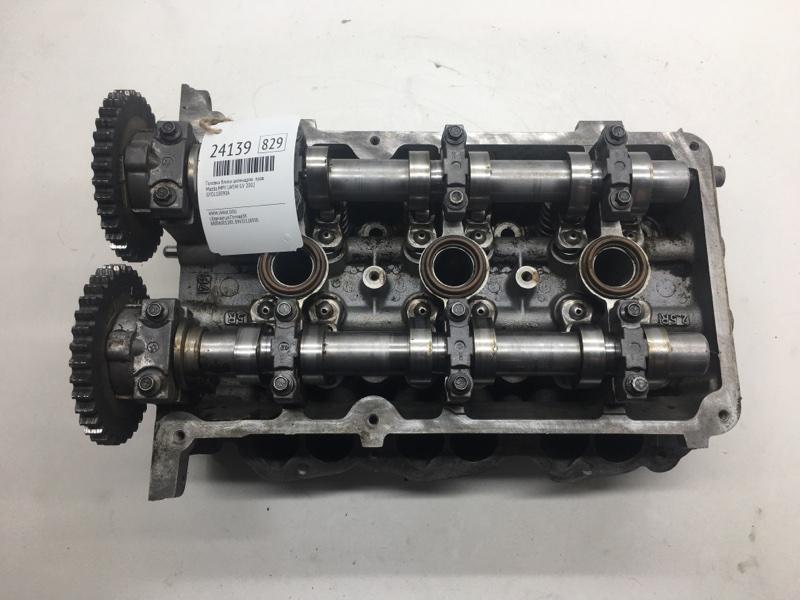Головка блока цилиндров Mazda Mpv LW5W GY 2002 правая (б/у)