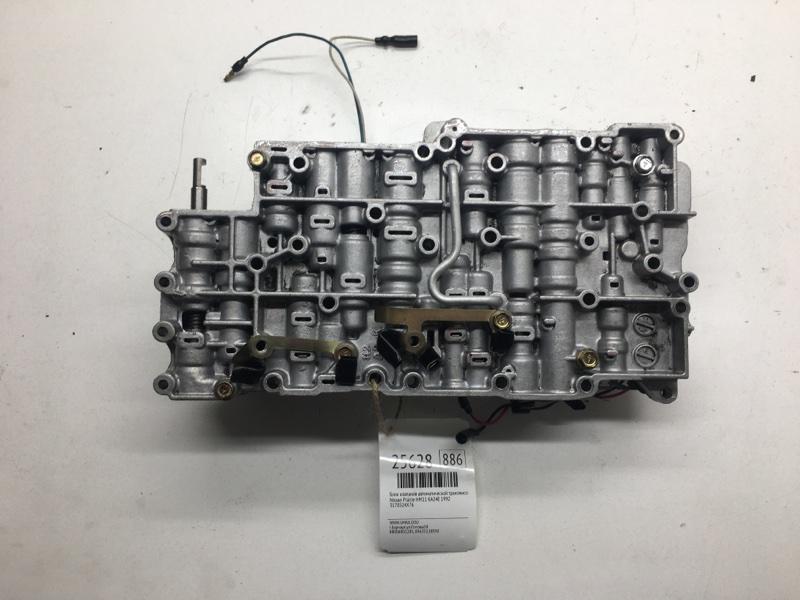 Блок клапанов автоматической трансмиссии Nissan Prairie HM11 KA24E 1992 (б/у)