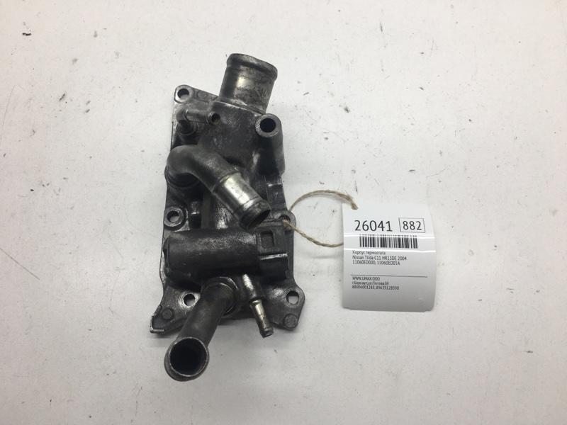 Корпус термостата Nissan Tiida C11 HR15DE 2004 (б/у)
