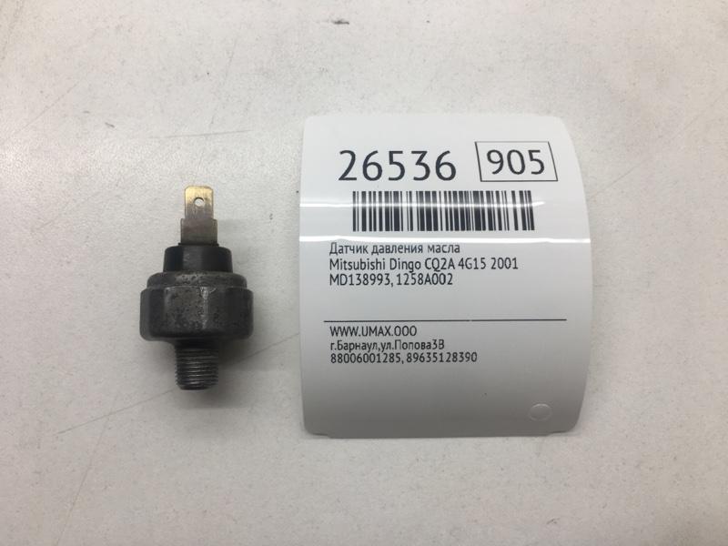 Датчик давления масла Mitsubishi Dingo CQ2A 4G15 2001 (б/у)
