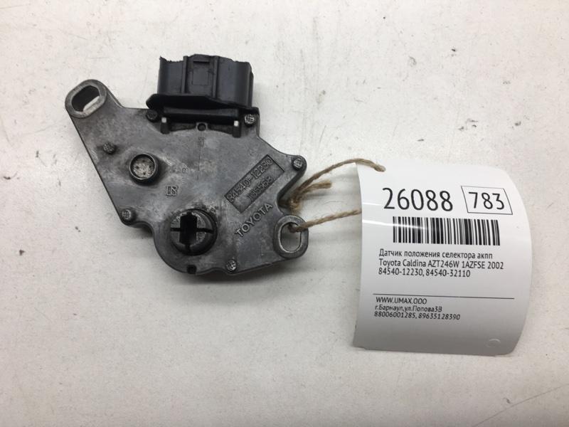 Датчик положения селектора акпп Toyota Caldina AZT246W 1AZFSE 2002 (б/у)