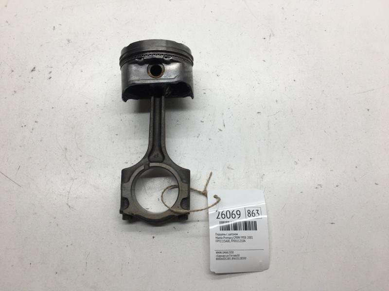 Поршень с шатуном Mazda Premacy CP8W FPDE 2001 (б/у)