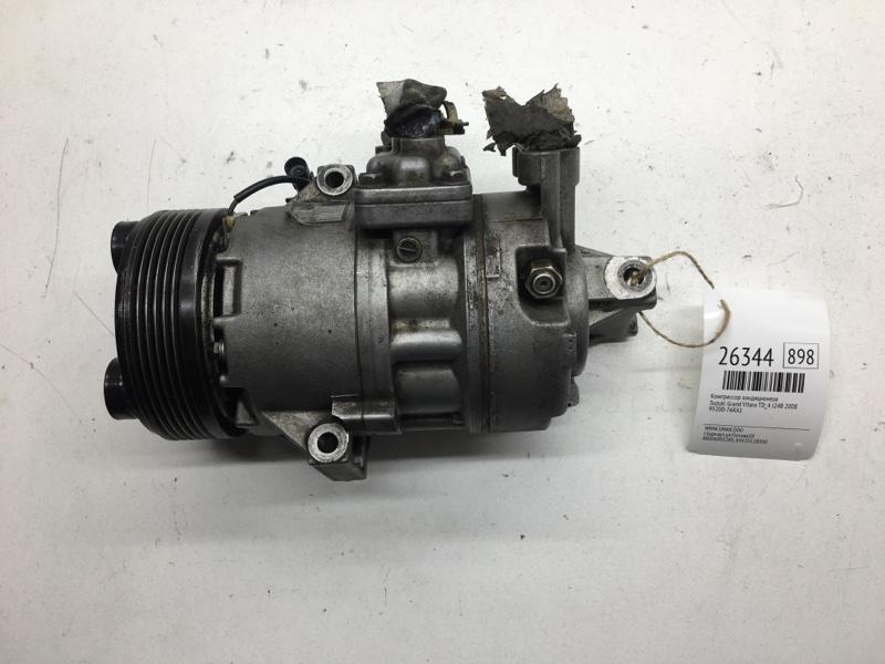 Компрессор кондиционера Suzuki Grand Vitara TD_4 J24B 2008 (б/у)