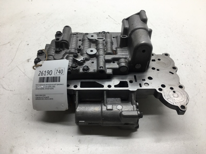 Блок клапанов автоматической трансмиссии Toyota Opa ZCT10 1ZZFE 2001 (б/у)