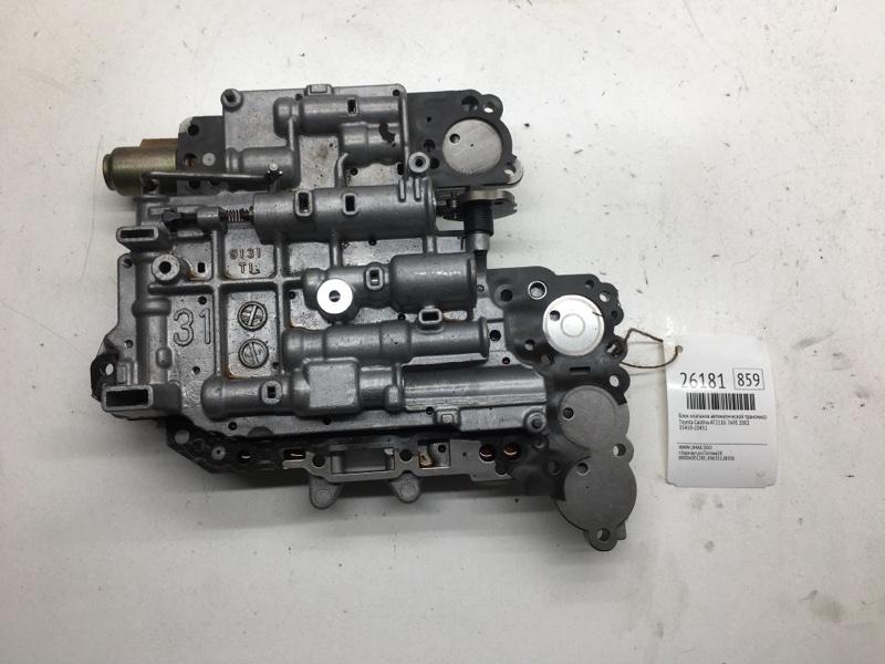 Блок клапанов автоматической трансмиссии Toyota Caldina AT211G 7AFE 2002 (б/у)