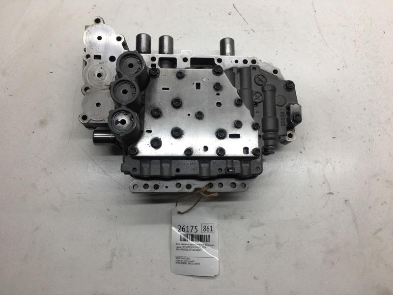 Блок клапанов автоматической трансмиссии Lexus Rx330 MCU38 3MZFE 2004 (б/у)