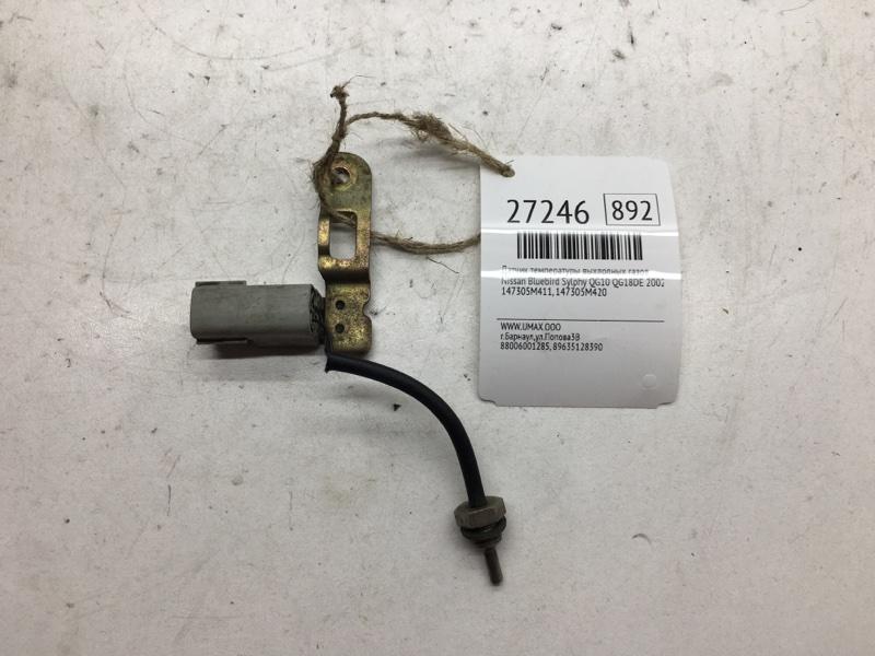 Датчик температуры выхлопных газов Nissan Bluebird Sylphy QG10 QG18DE 2002 (б/у)
