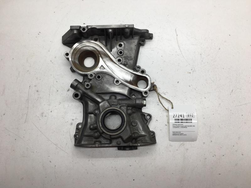 Лобовина двигателя Nissan Bluebird Sylphy QG10 QG18DE 2002 (б/у)