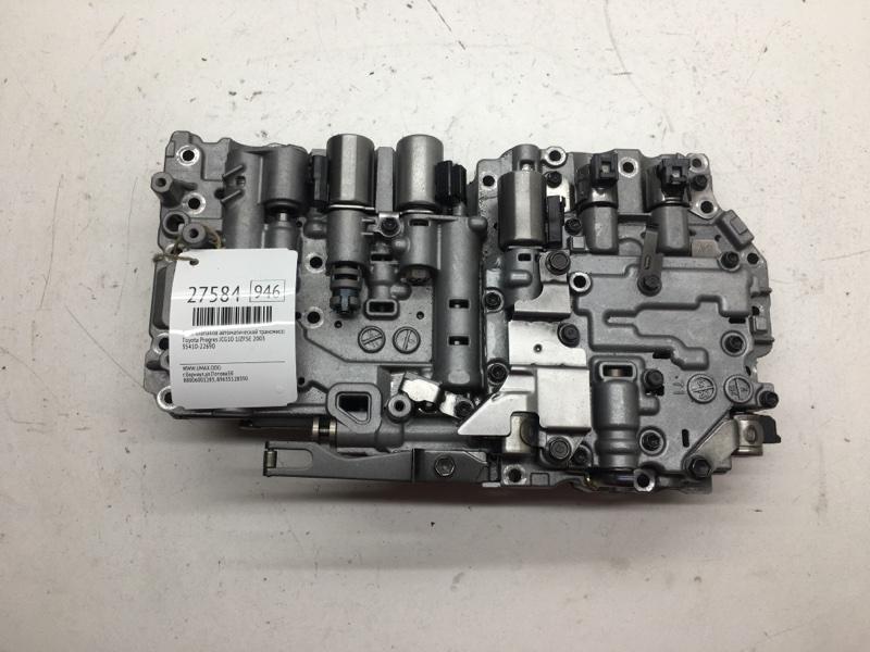 Блок клапанов автоматической трансмиссии Toyota Progres JCG10 1JZFSE 2003 (б/у)