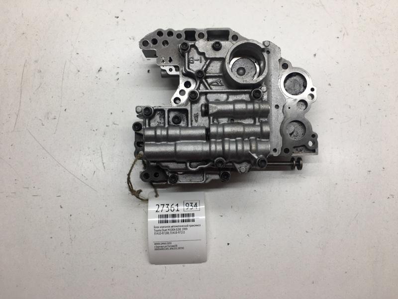 Блок клапанов автоматической трансмиссии Toyota Duet M100A EJDE 1999 (б/у)