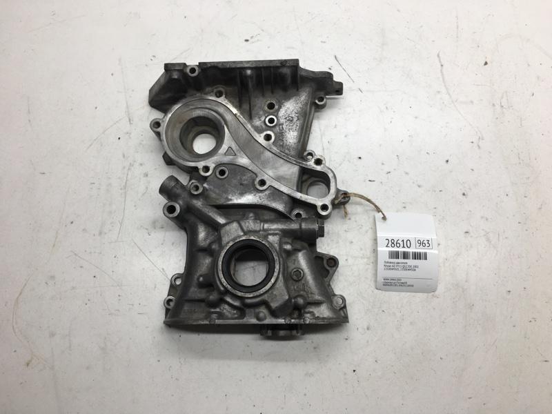 Лобовина двигателя Nissan Ad VY11 QG13DE 2002 (б/у)