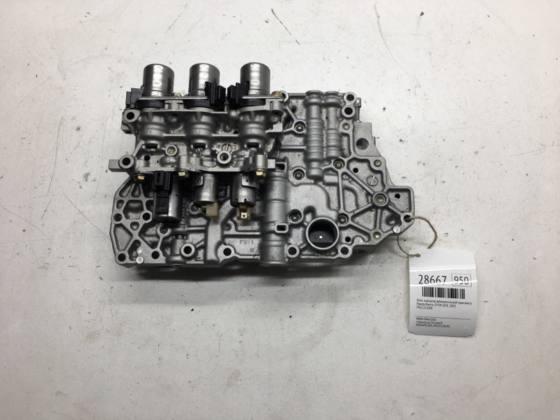 Блок клапанов автоматической трансмиссии Mazda Demio DY3W ZJVE 2003 (б/у)