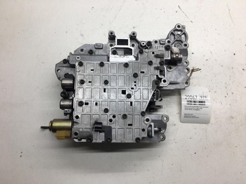 Блок клапанов автоматической трансмиссии Toyota Carina AT211 7AFE 1998 (б/у)