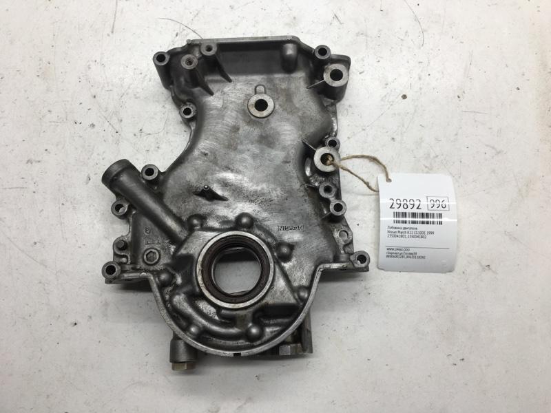 Лобовина двигателя Nissan March K11 CG10DE 1999 (б/у)