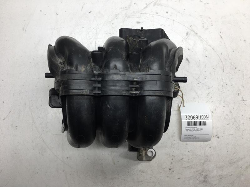 Коллектор впускной Toyota Vitz KSP90 1KRFE 2006 (б/у)