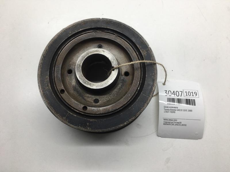 Шкив коленвала Toyota Altezza GXE10 1GFE 2000 (б/у)